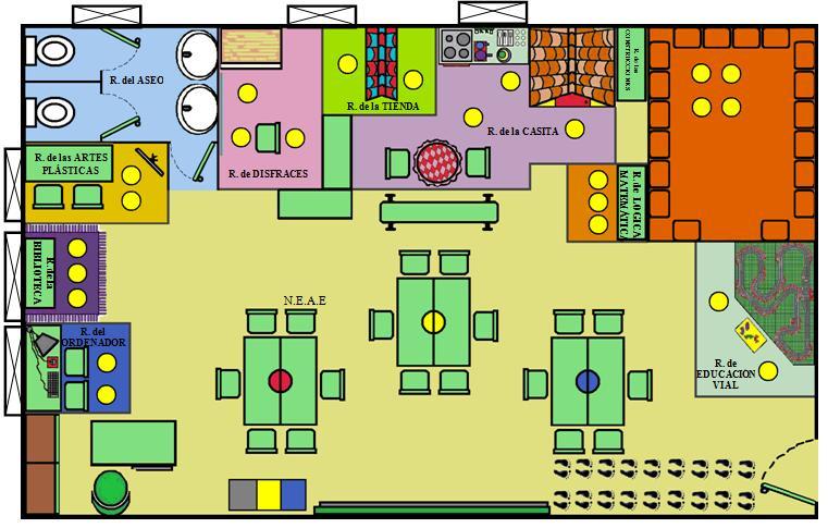 Plano de aula asambleas dial gicas en el luis vives for Plano escuela infantil