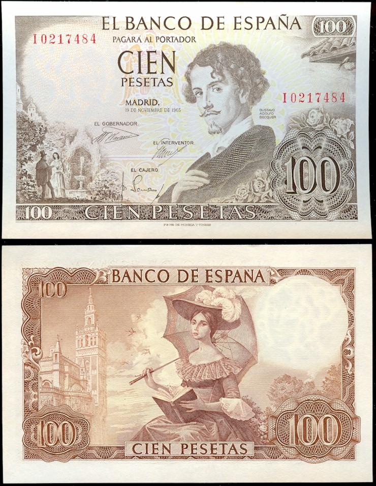 100_pesetas_of_Spain_1965