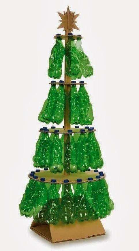 con-botellas-de-adornosrbol navidad-