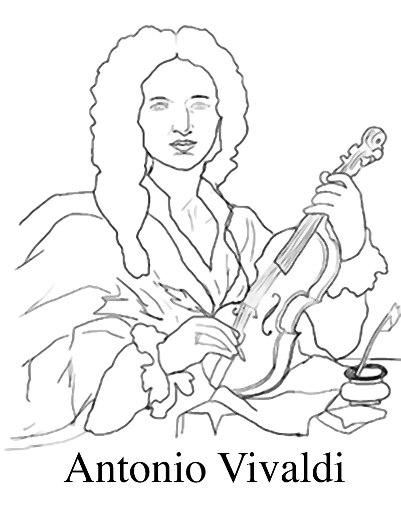 vivaldi coloring pages - photo#1
