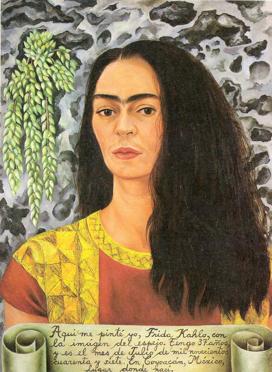 Frida Kahlo-autorretrato1947-